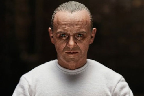 The Silence of the Lambs  Hannibal Lecter 1:6 figure Prison Uniform Version