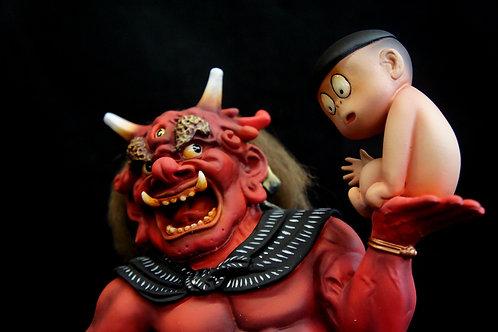 ゲゲゲの鬼太郎アートスタチュー鬼太郎外伝地獄の地獄