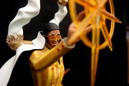 ワンピースキザルボルサリーノ1:4スケールマケット海賊の肖像