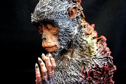 Monkey God 1:3 Bust Art Statue 羽化齊天大聖像