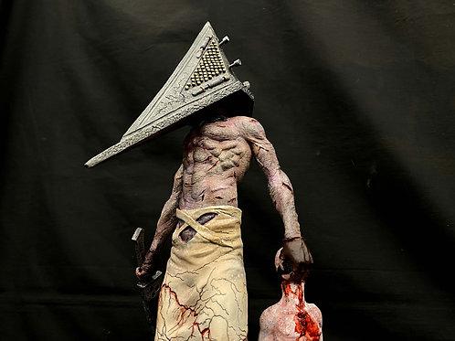 Silent Hill Bogeyman (Red Pyramid Head) 1:4 Art Statue 完成品