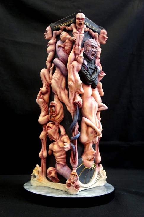 魂の柱アートスタチューヘルレイザー