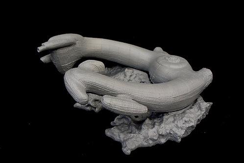 H.R. Giger Alien Derelict Ship 50 cm resin cast model エイリアン 遺棄船