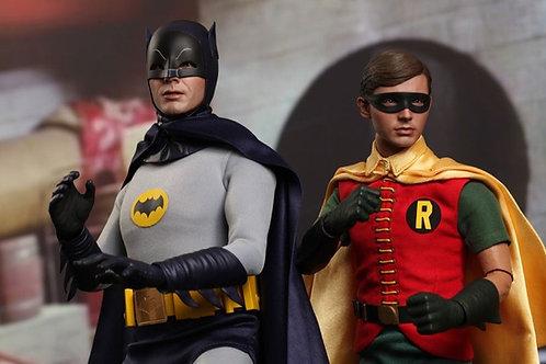 1966 Batman & Robin 1:6 two figure set Adam West, Burt Ward