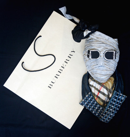 Invisible Man Life-Size Wall-Hanger Burberry