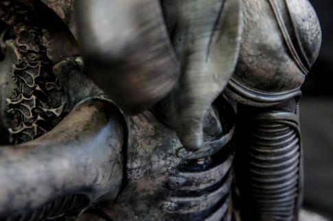 Big Chap Alien Bust 1:3 Art Statue (Takayuki Takeya 竹谷隆之)