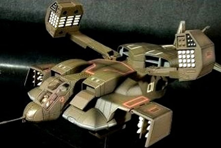 Aliens Dropship 01 Diecast Metal 1:72 scale