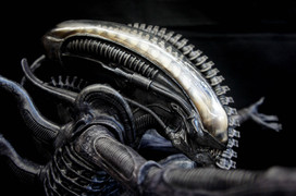 H.R. Giger Big Chap Alien version 3.0