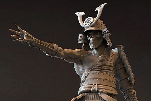 Ghost Shogun 1:6 Resin Cast Model