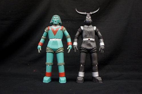 Johnny Sokko Giant Robot GR1 + GR2 maquette set