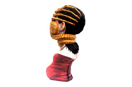 Colonist Life-Size Bust