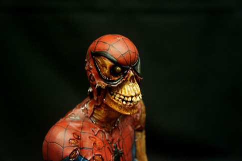 Zombie SpiderMan Bust
