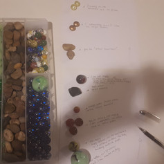 Today session is with a client who is getting rid of Mr.Angry.😠 We using marbles and pebbles to describe emotions and behavior.