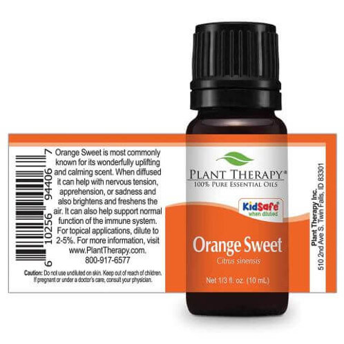 Orange Sweet Essential Oil by Plant Therapy