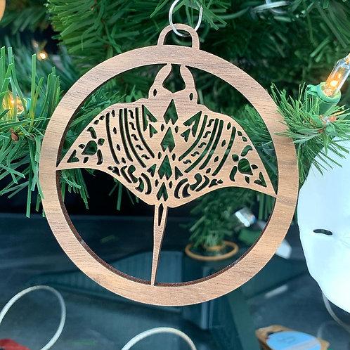 Manta Ray Ornament