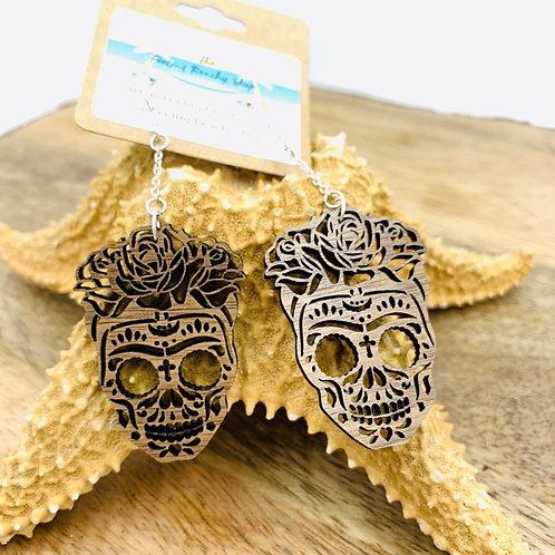 Dia de los muertos earrings