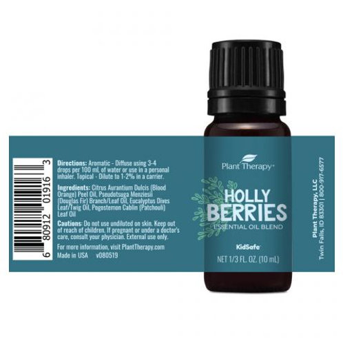 Holly Berries Essential Oil by Plant Therapy