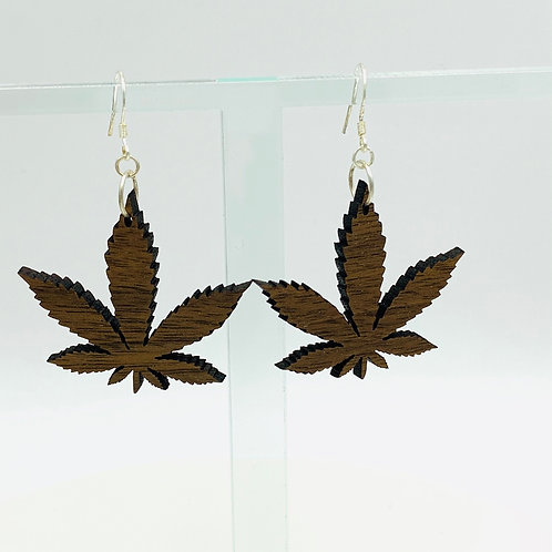 Hemp Leaf Earrings