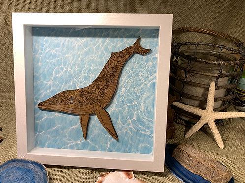 """Humpback Whale (9""""x9"""")"""