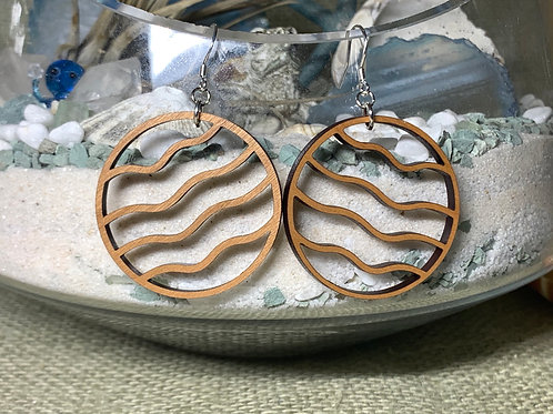 Circle Wave Earrings
