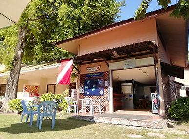 Ko Hai Divers Shop Front