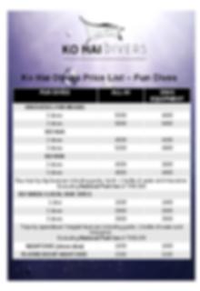 Ko Hai Divers Price List Fun Dives