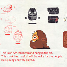 Concept-African Mask