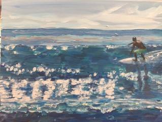 2020 Surf Art Calendar - Mark Levy