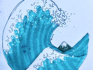 2020 Surf Art Calendar - Olive Moore