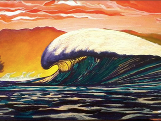 2021 Surf Art Calendar - Derrick Ontiveros