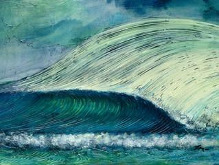 2020 Surf Art Calendar - Zen Del Rio