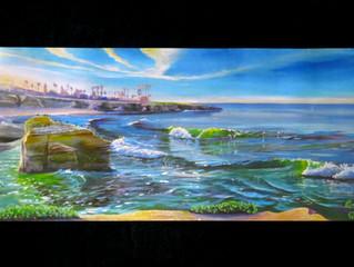 2021 Surf Art Calendar - Zack Lobisch