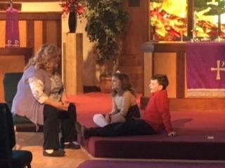 Rev Debbie with children.JPG