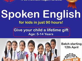 Spoken English Classes for Kids.