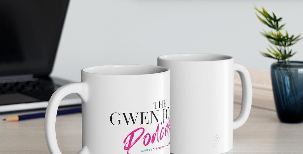 The Gwen Jones Podcast Ceramic Mug 11oz