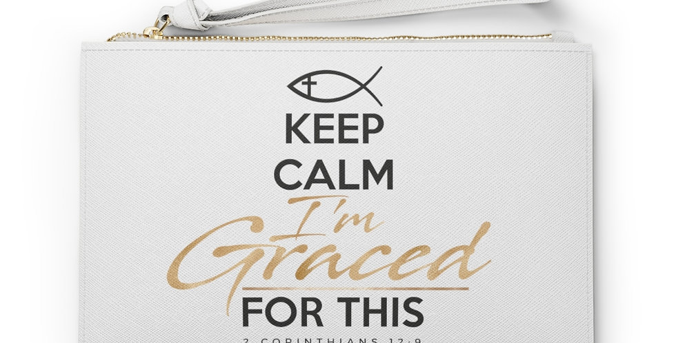 Graced Clutch Bag