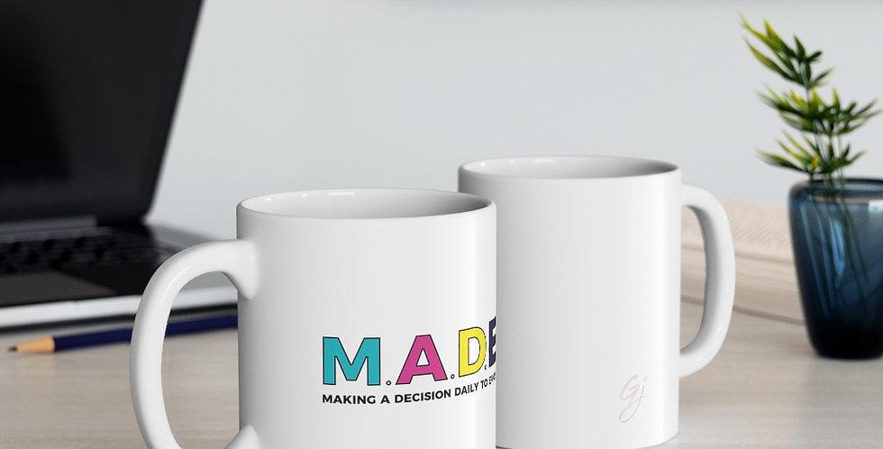 M.A.D.E. Ceramic Mug 11oz