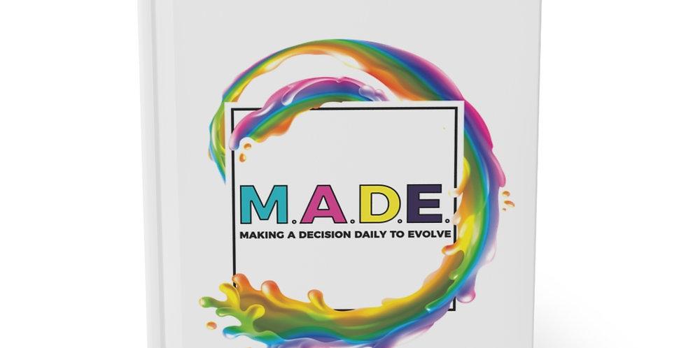 M.A.D.E. Hardcover Journal Matte