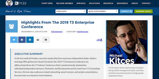 Highlights From The 2019 T3 Enterprise Conference