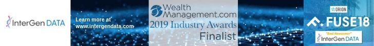 InterGen Data Named Finalist for Technology Providers by WealthManagement.com