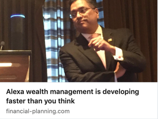 Alexa Wealth Management is Developing Faster than you Think