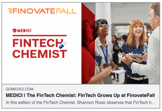 The FinTech Chemist: FinTech Grows Up at FinovateFall
