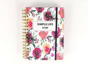 Flor Spiral Weekly Journal Planner Diary