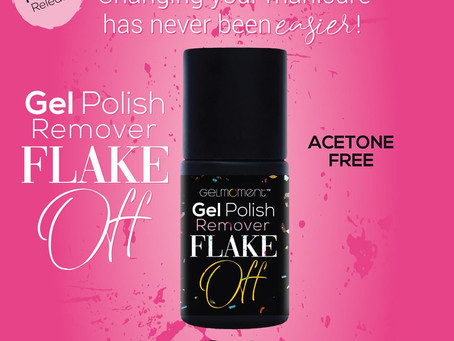 Flake Off - Brush Off Gel Polish Remover