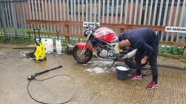 motorcycle maintenance, cleaning, ACF50