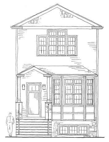 Chicago Custom Designed Home, Chicago Residential Architect