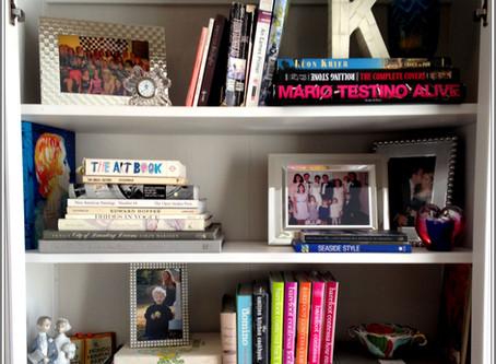 A Well Arranged Bookshelf