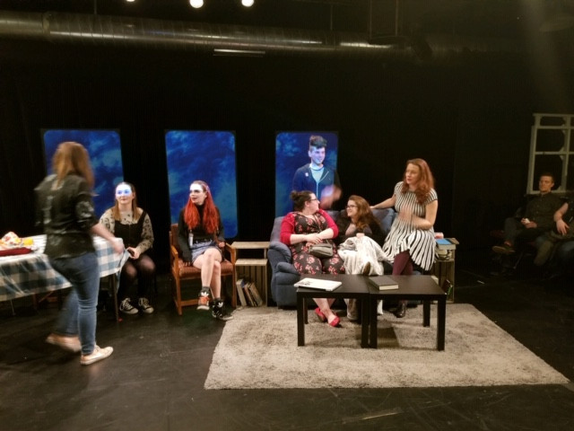 Hands a-flapping during the talkback