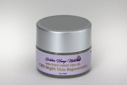 Golden Hemp Naturals CBD Night Skin Rejuvenator