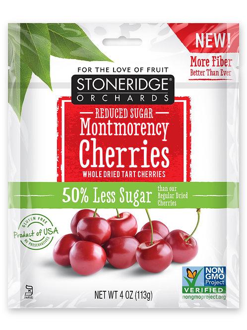 Reduced Sugar Whole Dried Montmorency Cherries 6/4oz